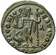 "Licinius I AE Follis ""IOIVI CONSERVATORI Jupiter, Eagle"" Siscia RIC 8 EF"
