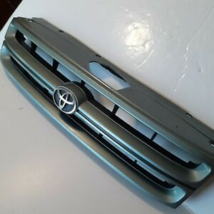 Tercel Front Grill 1993 TOYOTA OEM Original with Emblem Light Geeen Ex. Cond.