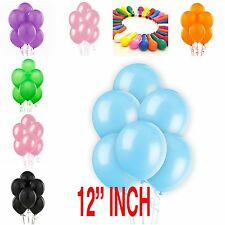 100 PLAIN BALONS BALLONS HELIUM & AIR BALLOONS Quality Party Birthday & Wedding