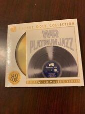 """WAR """"Platinum Jazz"""" Gold Cd (not MFSL, Not Dcc) Brand New."""
