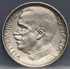 1925 Italie - 50 Centesimi 1925  vittorio emanuele III KM# 61.2 reeded edge