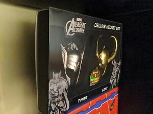 SDCC The Avengers Key Ring Chain Keychain Thor and Loki helmet