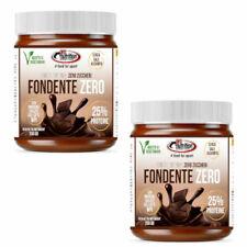PRO NUTRITION FONDENTE ZERO 2 BARATTOLI crema proteica 25% zero zuccheri