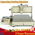 4 Axis CNC 6090Z USB 1.5KW Engraving Cutting Machine f/ Metal Nonmetal Router
