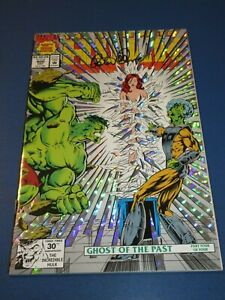 Incredible Hulk #400 Signed by Peter David VFNM Beauty Wow