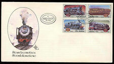 South Africa 1983 Steam Railway Locomotives First Day Cover #C13723