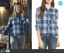 RAILS sz M -HUNTER Plaid Shirt, Ocean Blue Cloud, Celebrity Fave, Excellent $158