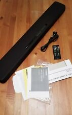 """Yamaha 35"""" 2.1 Channel Soundbar with Dual Built-in Subwoofers (ATS-1070)"""