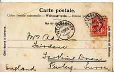 Family History Postcard - Adams - Farthing Down - Purley - Surrey - Ref 2071A