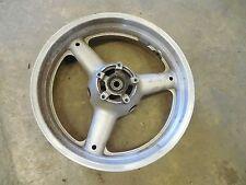 Suzuki gsx600 katana 600 rear back rim wheel silver gsx750 1998 1999 2000 2001