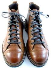 "Allen Edmonds ""ALPINE"" Men's Lace-to-Toe WEATHERPROOF Boots 8.5 D Tan USA (604)"