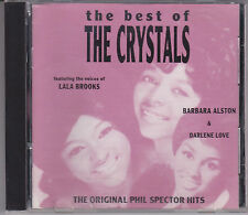 Best of the CRYSTALS Original Phil Spector Hits 1992 CD Girl Group Sound 50s 60s