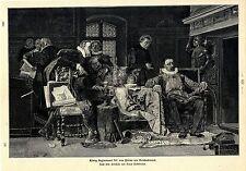 Simar Buchbinder König Sigismund III. von Polen als Goldschmied Histor.Druck1901