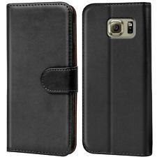 Etui Coque Pour Samsung Galaxy S6 Téléphone Portable Rabattable Housse Sac Livre