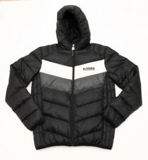 ELLESSE PUFFER COAT BLACK GREY WHITE WINTER JACKET WARM
