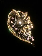 Parklane Jewelry Multiple Use Pin With Hematite Pearl $102!! LOWEST PRICE EVER!!
