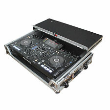 New DJ flight road ready hard case for pioneer XDJ-RX w/ laptop shelf and wheels