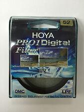 Genuine HOYA 52mm Pro1 D Pro 1 Digital UV Filter Pro1D Pro 1D DMC Multi Coated