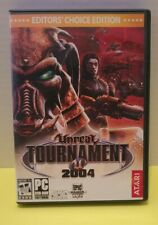 Unreal Tournament 2004 Editor's Choice Edition PC With Key Atari Epic Games  2C