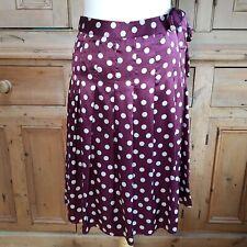 Laura Ashley Women's 100% Silk Skirt Size 10 UK