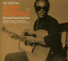 BOBBY WOMACK Last Great Soul Man -The Essential NEW SOUL R&B 2X CD (UNION SQUARE