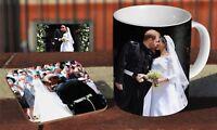 Royal Wedding Prince Harry And Meghan Kiss Coffee MUG + Wooden Coaster Gift Set