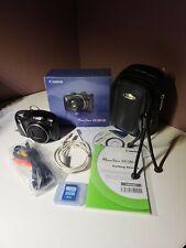 Canon PowerShot SX130 IS 12.1MP Digital Camera - Black with bundle!