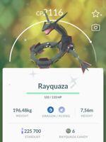 ⭐️ Shiny Legendary Rayquaza ⭐  Pokémon Go Account Pokemon PTC ⭐️ 21n