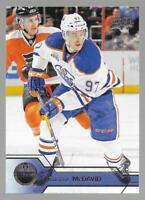 2016-17 Upper Deck Connor McDavid 2nd Year Card # 75 Edmonton Oilers NM/MT