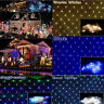 LED String Fairy Lights Net Mesh Curtain Xmas Wedding Party Indoor Outdoor Decor