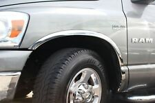 FTDO101 Carrichs | 02-08 Dodge Ram 1500 2500 CHROME Stainless Steel Fender Trim