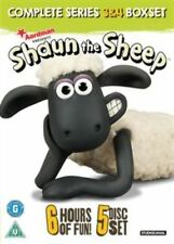 Shaun The Sheep Complete Series 3 and 4 - DVD Region 2