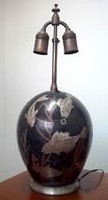 Original ART DECO WMF Ikora Lamp Poison Fish Design By Paul Haustein