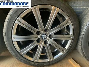 Genuine HSV VE E1 Senator / WM 1 Grange 19'' Mag Wheels Shadow Chrome Set of 5