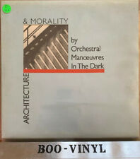 OMD ~ Architecture & Morality (Dindisc DID12) 1990 Synth Pop Vinyl Ex Con Blue