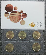 2016 CANADA WOMEN'S RIGHT TO VOTE 100TH ANNIVERSARY 5 PACK LOONIE DOLLAR