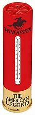 Rivers Edge Winchester Gun Rifle Shot Shell Outdoor Yard Thermometer Red Large