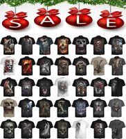 Spiral Direct NEW DESIGNS Skull/Dragon/Reaper/Rock/Metal/Xmas/Gift/T shirt/Top