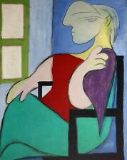 Pablo Picasso, Woman Sitting Near Window 1932, Hand Signed Lithograph