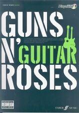 GUNS N' ROSES Authentic Guitar Playalong Book/CD