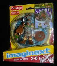 Battle Arena AXEMIN THE VIKING Target Stores Exclusive Imaginext Figure MIP