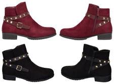 Stivali e stivaletti da donna sintetici senza marca tacco basso ( 1,3-3,8 cm )