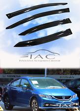 For Honda Civic Sedan 11-16 Window Visor Vent Sun Shade Rain Guard Door Visor