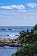 Beautiful and Rugged Newfoundland Coastline Canada Journal : 150 Page Lined.