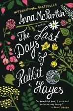 Last Days of Rabbit Hayes: A Novel-ExLibrary