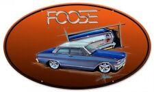 Chip Foose Design Pontiac GTO Custom US Car Retro Sign Blechschild Schild Groß!