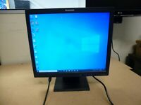 """Lenovo 17"""" LCD Monitor Model 9227-AB6 Tested and Working in Good Condition."""
