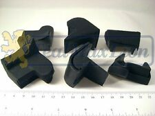 Jeu de 6 tampons caoutchouc de capote pour Peugeot 403 cabriolet