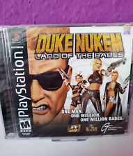 Ps1 Duke Nukem-Land of the Babes SEALED/NEW/Nouveau/NEUF-PlayStation 1