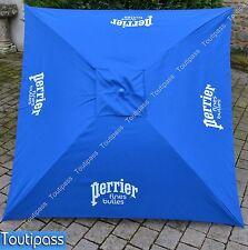 PERRIER EAU FINES BULLES Parasol de terrasse carré inclinable 145x145 cm NEUF